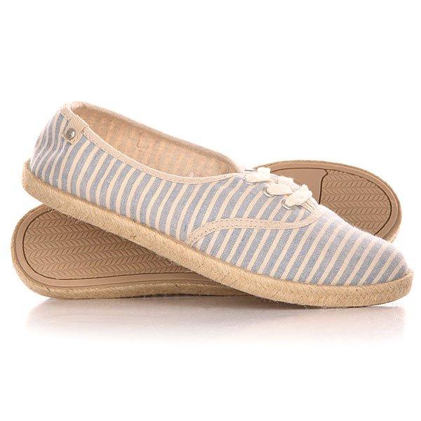 Кеды кроссовки низкие женские Roxy Tango J Shoe Blue/White