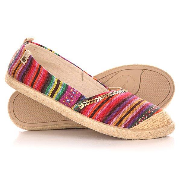 Эспадрильи женские Roxy Flamenco J Shoe Multi