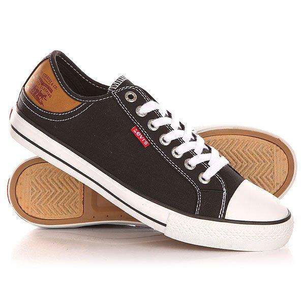 Кеды кроссовки низкие Levis Stan Buck Regular Black