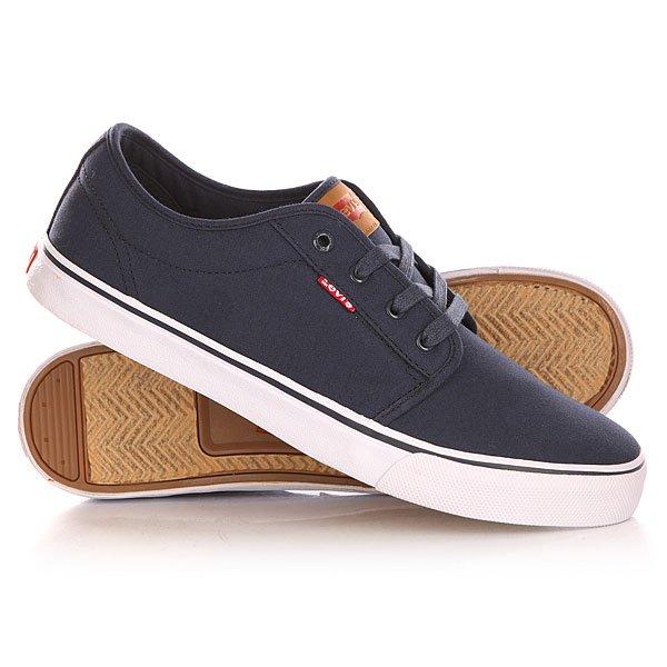 Кеды кроссовки низкие Levis Porter Navy Blue