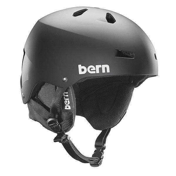 Шлем для сноуборда Bern Snow Eps Team Macon Matte Black