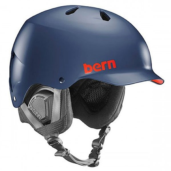Шлем для сноуборда Bern Snow Eps Watts Eps Matte Navy Blue/Black Liner
