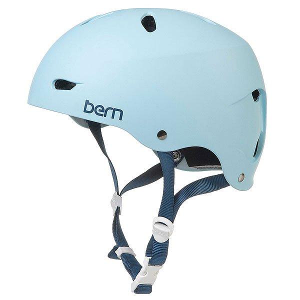 Водный шлем женский Bern Water Brighton Matte BluebirdЯркий шлем для смелых райдерш, готовый обеспечить надежную защиту от ударов благодаря прочному ABS пластику с пенный наполнителем EPS. Приятная внутренняя отделка добавит комфорта, совместимые с аудио-системой амбушюры позволят наслаждаться любимой музыкой на склоне.Характеристики:Внешняя тонкая оболочка из прочного ABS пластика. Наполнение пеной EPS, защищающей от ударов. Съемный зимний вкладыш EPS. Регулировка по объему BOA. Аудио-совместимые амбушюры.Пассивная система вентиляции поддерживает постоянную циркуляцию воздуха. Логотип на внешней стороне. Сертификаты безопасности:ASTM F 2040 и EN 1077B.<br><br>Тип: Водный шлем<br>Возраст: Взрослый<br>Пол: Женский