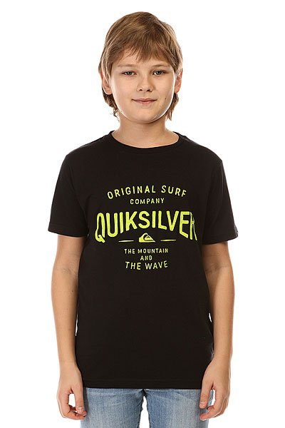 Футболка детская Quiksilver Claim It Tees Anthracite
