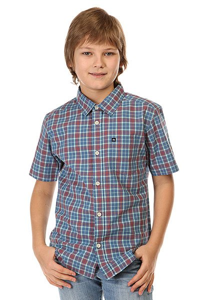 Рубашка в клетку детская Quiksilver Every Checks You Wvtp Everyday Check Feder