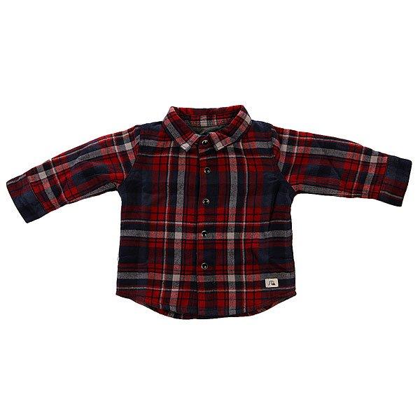 Рубашка в клетку детская Quiksilver New Francis Tow Wvtp Navy Blazer Check