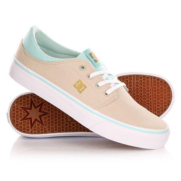 Кеды кроссовки низкие женские DC Trase Tx Shoe Sand Dollar