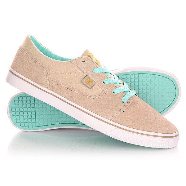 Кеды кроссовки низкие женские DC Tonik W Shoe Tan
