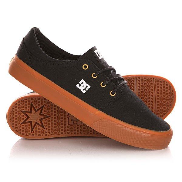 Кеды кроссовки низкие DC Trase Tx Shoe Black/Gold