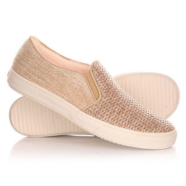 Слипоны женские Roxy Blake J Shoe Tan