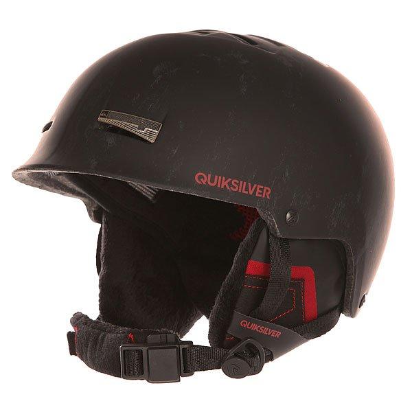 Шлем для сноуборда Quiksilver Skylab Hlmt BlackQuiksilver Skylab – отличная модель горнолыжного шлема, пользующаяся высоким спросом среди любителей активного вида спорта, независимо от пола.Характеристики:Шлем оборудован двойной сверхпрочной оболочкой, обеспечивающей безопасность головы во время падения. Конструкция Quiksilver Skylab оборудована встроенными рельефными накладками с сеткой, придающими модели дополнительного комфорта, а благодаря тому, что воздушный поток свободно вентилируется внутри шлема, голова всегда остается сухой. Регулируемый размер шлема.Съемные вставки для ушей. Наличие встроенных аудио наушников.<br><br>Цвет: черный<br>Тип: Шлем для сноуборда<br>Возраст: Взрослый<br>Пол: Мужской