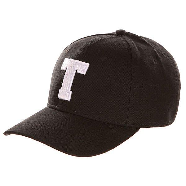 Бейсболка классическая TrueSpin Abc Baseball Cap Black T<br><br>Цвет: черный<br>Тип: Бейсболка классическая<br>Возраст: Взрослый<br>Пол: Мужской