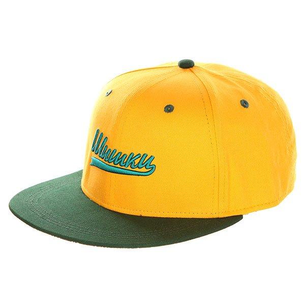 Бейсболка с прямым козырьком Запорожец Шишки Yellow/Green<br><br>Цвет: желтый,зеленый<br>Тип: Бейсболка с прямым козырьком<br>Возраст: Взрослый<br>Пол: Мужской