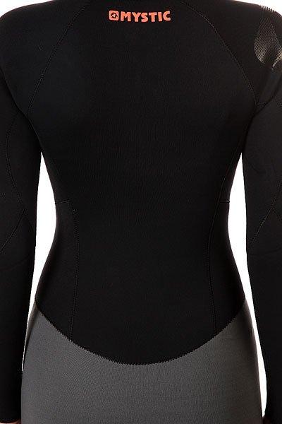 Гидрокостюм (Комбинезон) женский Mystic Diva 3/2mm D/L Longarm Super Shorty F-Zip Black от Proskater