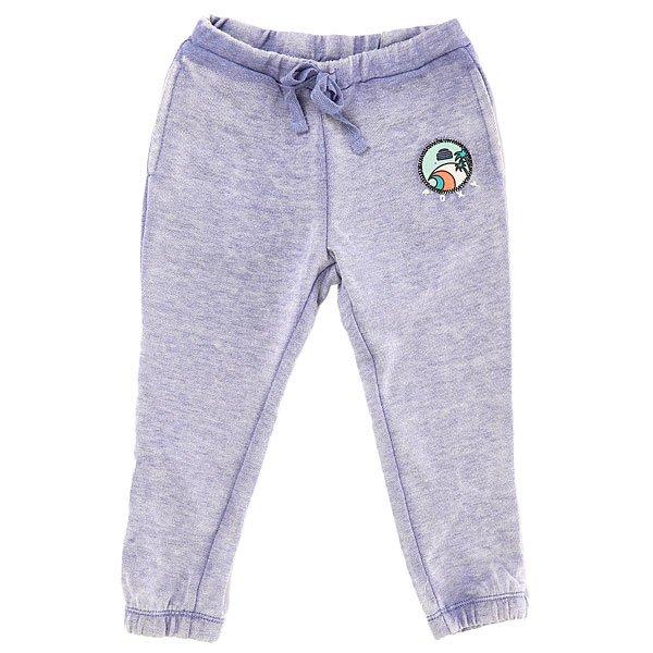 Штаны спортивные детские Roxy Sunscape Otlr ChambrayДетские спортивные штаны от бренда Roxy.Характеристики:Мягкая обработка ткани.Зауженный крой. Эластичные манжеты штанин и пояс.<br><br>Цвет: синий<br>Тип: Штаны спортивные<br>Возраст: Детский