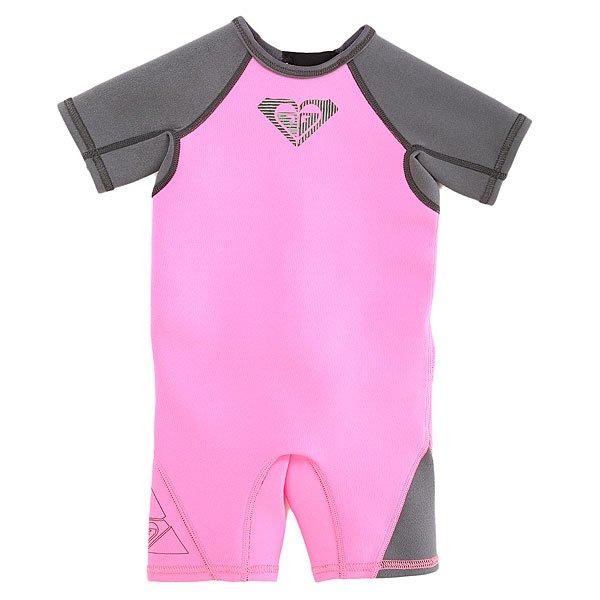 Гидрокостюм (Комбинезон) детский Roxy Tg 1.5mm Syns T Paradise PinkГидрокостюм Roxy прекрасно подойдет для водных прогулок вашего ребенка на море, озере или пляже. Гидрокостюм Roxy подарит вашему ребенку защиту от влаги и солнца и незабываемые впечатления от прогулок.Характеристики:Материал – Hyperflex Neoprene 3.0. Молния YYK на спине.Плоские швы. Защита от ультрафиолетового излучения UPF +50. Логотип Quiksilver.<br><br>Цвет: розовый<br>Тип: Гидрокостюм (Комбинезон)<br>Возраст: Детский