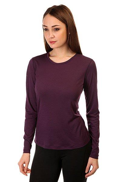 Термобелье (верх) женский Super Natural Base Ls 140 PurpleФункциональный лонгслив для комфортных зимних проулок или занятий спортом.Характеристики:Дышащая структура.Комбинация шерсти и полиэстера. Бесшовная технология. Длинный рукав.<br><br>Цвет: фиолетовый<br>Тип: Термобелье (верх)<br>Возраст: Взрослый<br>Пол: Женский