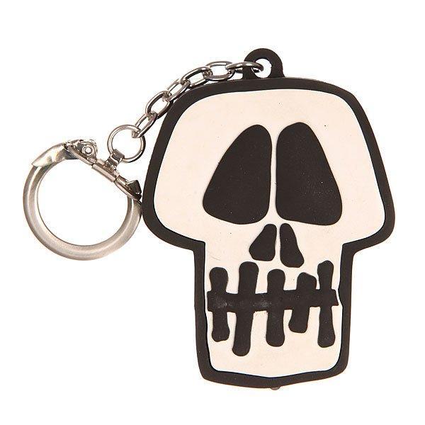 ������ Stussy Skull Light Keychain Black