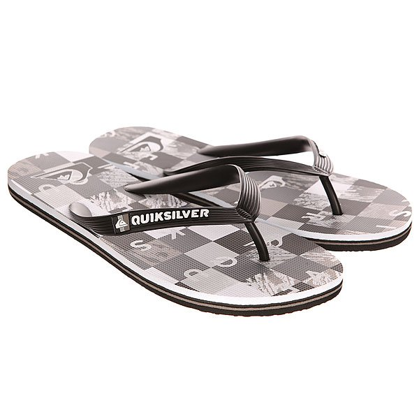 ��������� Quiksilver Molokai Check R M Sndl Black/Grey/White