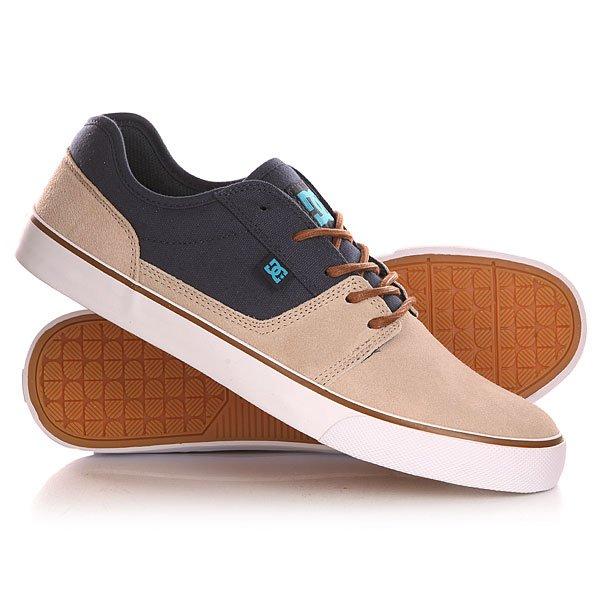Кеды кроссовки низкие DC Tonik Shoe TaupeНизкие мужские кеды Tonik TX от DC Shoes.Характеристики:Легкий и дышащий верх. Вулканизированная конструкция для более чуткого контроля доски.Износостойкая каучуковая подошва. Фирменный рисунок протектора подошвы DC Pill Pattern. Классическая шнуровка. Цельнокроеный носок.<br><br>Цвет: бежевый,синий<br>Тип: Кеды низкие<br>Возраст: Взрослый<br>Пол: Мужской