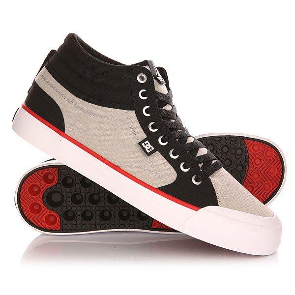 Кеды кроссовки высокие DC Evan Smith Hi Shoe Black/Grey