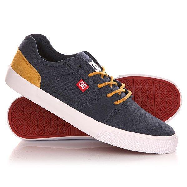 Кеды кроссовки низкие DC Tonik Shoe Navy/Camel