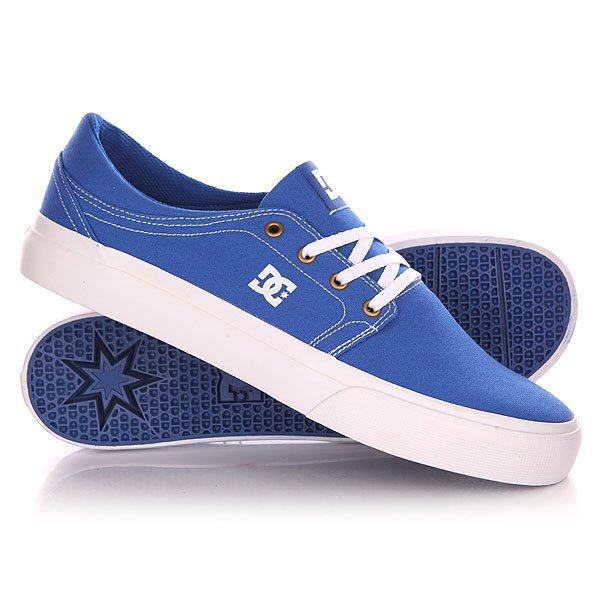 Кеды кроссовки низкие DC Trase Tx Shoe Blue/White