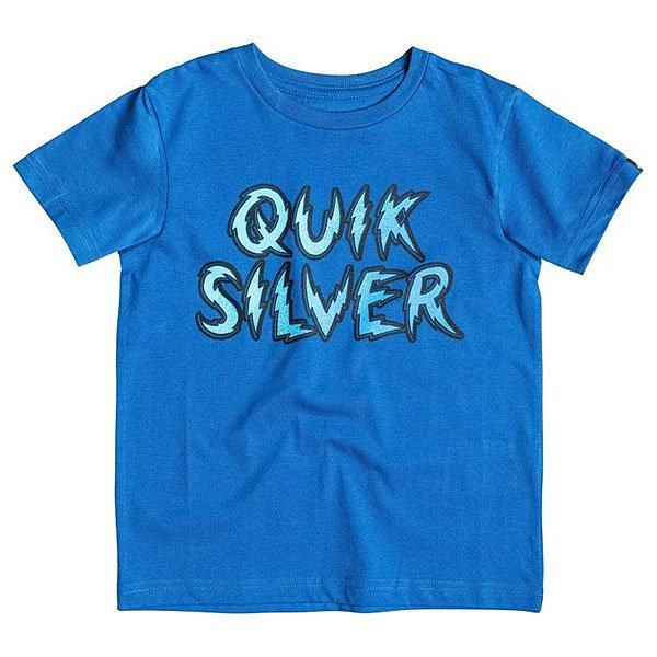 Футболка детская Quiksilver High Voltage K Tees Turkish Sea
