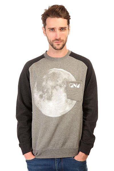 Толстовка классическая GNU Forest Moon Crew Charcoal
