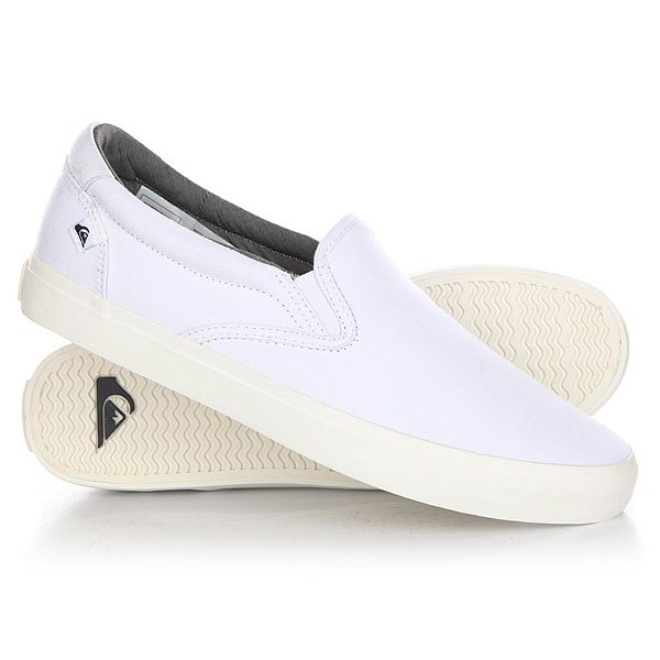 Слипоны Quiksilver Shore Break Slip White