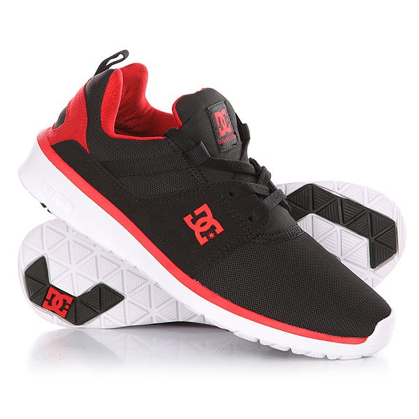 Кроссовки DC Heathrow Black/Red