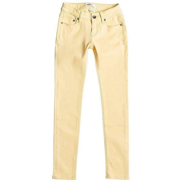 Джинсы прямые детские Roxy Desert Pant Golden Haze<br><br>Цвет: желтый<br>Тип: Джинсы прямые<br>Возраст: Детский