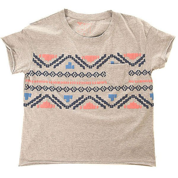 Футболка детская Roxy Remindmespirit Tees Heritage Heather