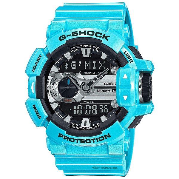 Электронные часы Casio G-Shock Gba-400-2C Light BlueФункциональные часы в стильном ярком корпусе из полимерного материала.Технические характеристики: Сверх яркая подсветка.Ударопрочная конструкция защищает от ударов и вибрации.LED-индикатор.Функция мирового времени.Функция секундомера - 1/100 сек - 1.000 часов.Таймер - 1/1 сек. - 100 часов.5 ежедневных будильников.Функция повтора будильника.Функция перемещения стрелок.Включение/выключение звука кнопок.Синхронизация со смартфоном при помощи Bluetooth 4.0.Авиа режим (режим оффлайн).Функция колеса прокрутки.Автоматический календарь.12/24-часовое отображение времени.Минеральное стекло.Корпус из полимерного пластика.Ремешок из полимерного материала.Индикатор уровня заряда батарейки.Время работы аккумулятора - 2 года.Водонепроницаемость (20 Бар).Точность +/- 15 сек в месяц.<br><br>Цвет: голубой<br>Тип: Электронные часы<br>Возраст: Взрослый<br>Пол: Мужской