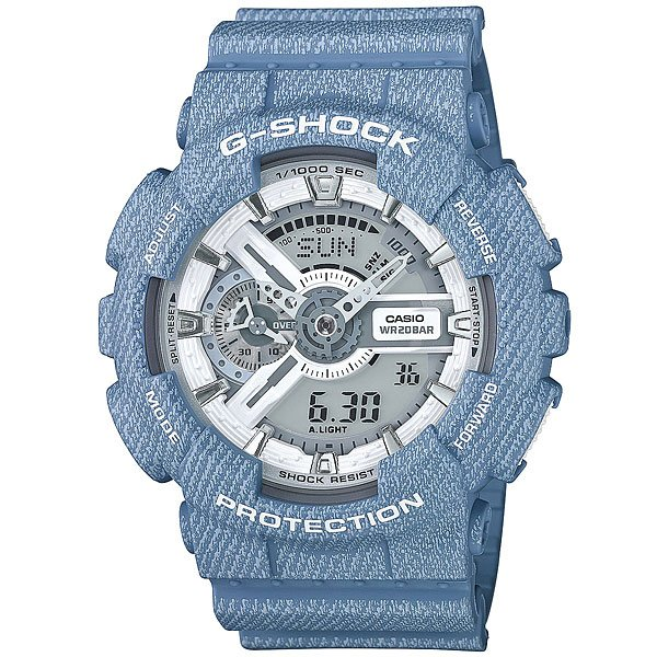 Электронные часы Casio G-Shock Ga-110Dc-2A7 Light Blue casio g shock g classic ga 110dc 2a7