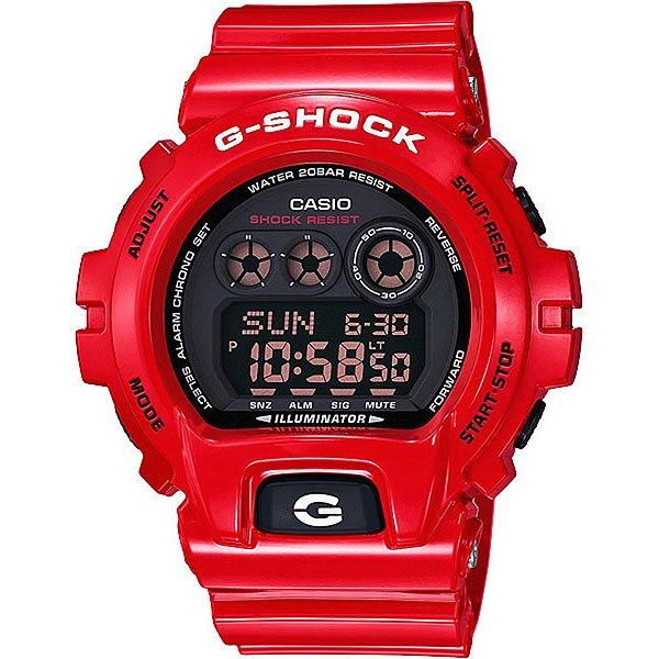 Электронные часы Casio G-Shock Gd-X6900Rd-4E RedНаручные часы в мощном спортивном корпусе с оригинальным ремешком из полимерного материала.Технические характеристики: Сверхмощная автоматическая подсветка LED.Ударопрочная конструкция защищает от ударов и вибрации.LED-индикатор.Функция мирового времени.Функция секундомера- 1/100 сек. - 24 часа.Таймер - 1/1 мин. - 24 часа.Яхт-таймер.Будильник с тремя многофункциональными звуковыми сигналами.Функция повтора будильника.Включение/выключение звука кнопок.Автоматический календарь.12/24-часовое отображение времени.Минеральное стекло - прочное, устойчивое к царапинам минеральное стекло защищает часы от повреждений.Корпус из полимерного пластика.Ремешок из полимерного материала.Время работы аккумулятора - 10 лет.Водонепроницаемость (20 Бар).Точность +/- 15 сек в месяц.<br><br>Цвет: красный<br>Тип: Электронные часы<br>Возраст: Взрослый<br>Пол: Мужской
