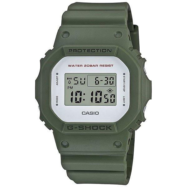Электронные часы Casio G-Shock Dw-5600M-3E GreenНадежные наручные часы с необходимым набором функций в практичном корпусе из полимерного материала.Технические характеристики: Электролюминесцентная подсветка.Ударопрочная конструкция защищает от ударов и вибрации.LED-индикатор.Функция секундомера- 1/100 сек. - 24 часа.Таймер - 1/1 сек. - 24 часа  (с автоматическим повтором).Будильник с многофункциональными звуковыми сигналами.Автоматический календарь.12/24-часовое отображение времени.Минеральное стекло - прочное, устойчивое к царапинам минеральное стекло защищает часы от повреждений.Корпус из полимерного пластика.Ремешок из полимерного материала.Время работы аккумулятора - 2 года.Водонепроницаемость (20 Бар).Точность +/- 15 сек в месяц.<br><br>Цвет: зеленый<br>Тип: Электронные часы<br>Возраст: Взрослый<br>Пол: Мужской