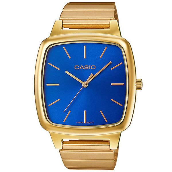 Кварцевые часы Casio Collection Ltp-E117G-2A Gold/Blue кварцевые часы casio collection ltp e118g 5a