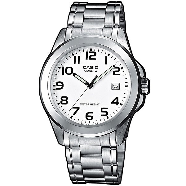 Кварцевые часы Casio Collection Mtp-1259Pd-7B Grey кварцевые часы casio collection mtp 1264pg 7b grey