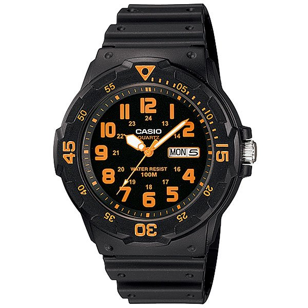 Кварцевые часы Casio Collection Mrw-200H-4B Black casio watch fashion medium student watch mrw 200h 1b mrw 200h 1b2 mrw 200h 1e mrw 200h 2b mrw 200h 2b2 mrw 200h 3b mrw 200h 4b