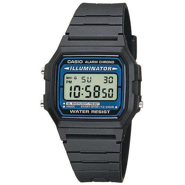 Электронные часы Casio Collection F-105W-1A BlackНаручные мужские электронные часы на резиновом ремешке.Характеристики:Многофункциональный механизм оснащен секундомером, календарем и другими функциями. Благодаря электролюминесцентной панели, обеспечивающей освещение всего циферблата, облегчается считывание данных. В часах есть функция послесвечения - несколько секунда после того, как Вы нажали на кнопку подсветки, подсветка работает. Эта модель является водонепроницаемой и соответствует DIN 8310 / ISO 2281, а, следовательно, устойчива к мелким брызгам. Любые контакты с большим количеством воды следует избегать. Функция секундомера - 1/100 сек. - 1 час. Издавая звуковой сигнал в установленное время, будильник напоминает о событиях, которые повторяются каждый день. Кроме того, настраиваемый звуковой сигнал предупреждает вас об истечении каждого полного часа. Автоматический календарь. 12/24-часовое отображение времени. Корпус из полимерного пластика. Ремешок из полимерного материала. Точность: +/- 30 сек в месяц. Аккумулятор обеспечивает часы достаточным питанием приблизительно на семь лет. Тип батареи: CR2016. Официальная гарантияCASIO, срок гарантийного обслуживания - 1 год.<br><br>Цвет: черный<br>Тип: Электронные часы<br>Возраст: Взрослый<br>Пол: Мужской