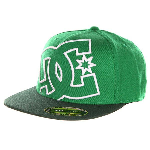 Бейсболка с прямым козырьком DC Ya Heard Celtic Green<br><br>Цвет: зеленый<br>Тип: Бейсболка с прямым козырьком<br>Возраст: Взрослый<br>Пол: Мужской