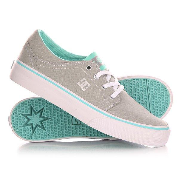 Кеды кроссовки низкие детские DC Trase Tx Grey/Blue