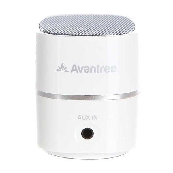 Колонка портативная Pluto Air Avantree BTSP-TR401-WHTБеспроводной мини-динамик с высоким качеством исполнения музыки в компактном дизайне.Технические характеристики: Пластиковый корпус.Подключение к мобильному телефону и ноутбуку по беспроводной сети  Bluetooth V2.1.Подключение через аудио кабель диаметром 3,5 мм.Совместим с MP3, MP4 и CD-плеером.USB кабель для зарядки.Улучшенное чистое звучание.Аккумуляторная батарея на 6-8 часов работы.Рабочий диапазон 10 метров.Выходная мощность 2.2 Вт.Встроенная аккумуляторная батарея 400 мА/ч.Время зарядки аккумулятора 1,5 часа.Сумка для переноски.<br><br>Цвет: белый<br>Тип: Колонка