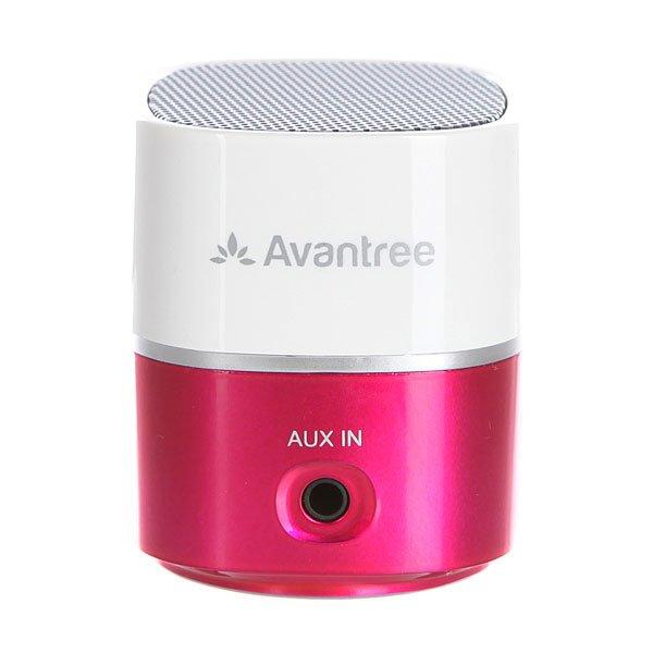 Колонка Avantree Bluetooth Pluto Mnsp-Tr402-Wpk PinkМини-динамик с высоким качеством исполнения музыки в компактном дизайне.Технические характеристики: Пластиковый корпус.Подключение через аудио кабель диаметром 3,5 мм.Совместим с MP3, MP4 и CD-плеером.USB кабель для зарядки.Улучшенное чистое звучание.Аккумуляторная батарея на 6-8 часов работы.Рабочий диапазон 10 метров.Выходная мощность 2.2 Вт.Встроенная аккумуляторная батарея 400 мА/ч.Время зарядки аккумулятора 1,5 часа.Сумка для переноски.<br><br>Цвет: белый,розовый<br>Тип: Колонка