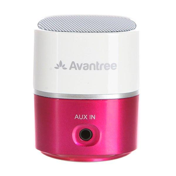 Колонка портативная Pluto Air Avantree BTSP-TR401-WPKБеспроводной мини-динамик с высоким качеством исполнения музыки в компактном дизайне.Технические характеристики: Пластиковый корпус.Подключение к мобильному телефону и ноутбуку по беспроводной сети  Bluetooth V2.1.Подключение через аудио кабель диаметром 3,5 мм.Совместим с MP3, MP4 и CD-плеером.USB кабель для зарядки.Улучшенное чистое звучание.Аккумуляторная батарея на 6-8 часов работы.Рабочий диапазон 10 метров.Выходная мощность 2.2 Вт.Встроенная аккумуляторная батарея 400 мА/ч.Время зарядки аккумулятора 1,5 часа.Сумка для переноски.<br><br>Цвет: белый,розовый<br>Тип: Колонка