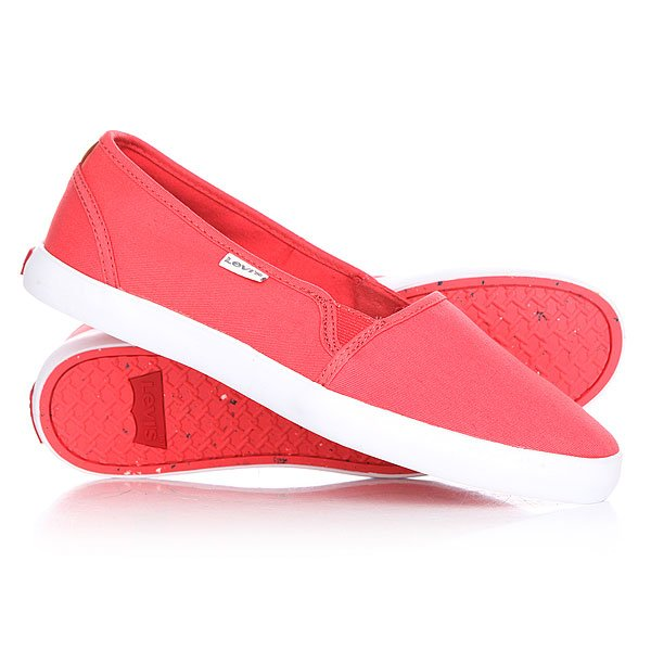Слипоны женские Levis Palmdale Slip On Regular Fuchsia слипоны женские levis palmdale slip on regular fuchsia