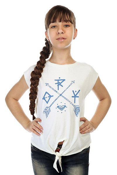 Футболка детская Roxy Rock Tees Sand Piper