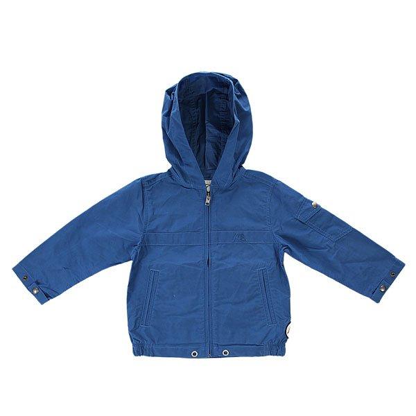 Куртка детская Quiksilver Sh Boy K Jckt Federal BlueЛегкая детская ветровка согреет, когда прохладно и позволит не заболеть с первым дуновением прохладного ветра. Характеристики:Стандартный крой.Фиксированный капюшон. Два прорезных кармана для рук. Манжеты с регулировкой.<br><br>Цвет: синий<br>Тип: Куртка<br>Возраст: Детский