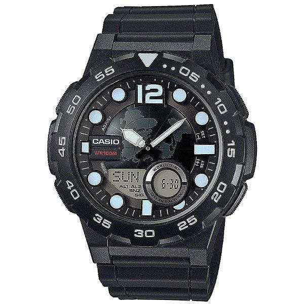 Электронные часы Casio Collection AEQ-100W-1AМужские наручные часы Casio AEQ-100BW.Характеристики:Неоновый дисплей: светящееся покрытие обеспечивает длительную подсветку в темное время суток после короткого воздействия света. 30 сохраненных имен и телефонных номеров всегда под рукой благодаря встроенной базе данных. Каждая запись может включать в себя текст из 8 букв и 12 цифр. Функция мирового времени. Функция секундомера- 1/100 сек. - 24 часа. Для поклонников точности: таймеры обратного отсчета напомнят Вам о текущих или особенных событиях, издав звуковой сигнал в установленное время. Время можно предварительно настроить от 1 минуты и до 24 часов. Идеальное решение для людей, которым необходимо ежедневно принимать лекарства или выполнять промежуточные упражнения (тренировки). 3 ежедневных будильника. Функция повтора будильника. Автоматический календарь.12/24-часовое отображение времени. Корпус из полимерного пластика.Ремешок из полимерного материала. Десять лет - один аккумулятор. Новые разработки в электронике обеспечивают значительно более низкое потребление энергии.Идеально подходит для плавания с маской и трубкой: часы являются водонепроницаемыми до 10 Бар/на глубине до 100 метров. Значение метров не относится к глубине погружения, но относится к атмосферному давлению, используемого в процессе испытания на водонепроницаемость. (ISO 2281). Точность: +/- 30 сек в месяц. Тип батареи: CR2025.<br><br>Цвет: черный<br>Тип: Электронные часы<br>Возраст: Взрослый<br>Пол: Мужской